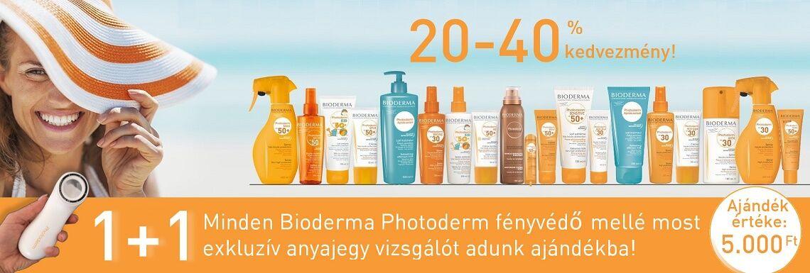 5000 Ft értékű Bioderma Photoderm anyajegy vizsgálót adunk ajándékba minden Bioderma Photoderm fényvédő mellé!