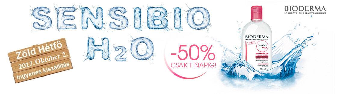 2017. október 2-án a Bioderma Sensibio H2O 500ml 50% kedvezménnyel rendelhető meg!