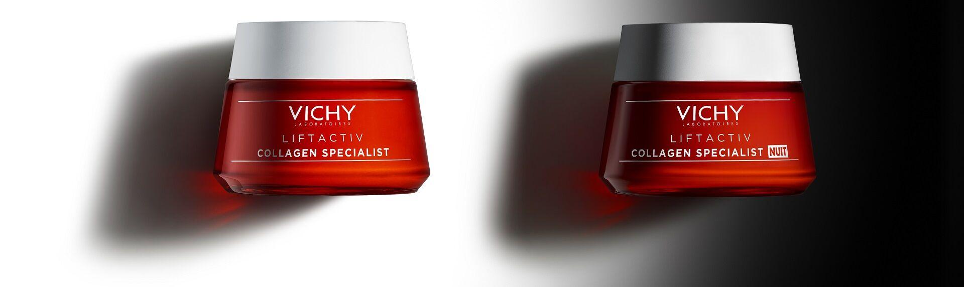 Megérkezett az idei év legjobban várt Vichy újdonsága, a Liftactiv Collagen Specialist éjszakai arcápoló krém!