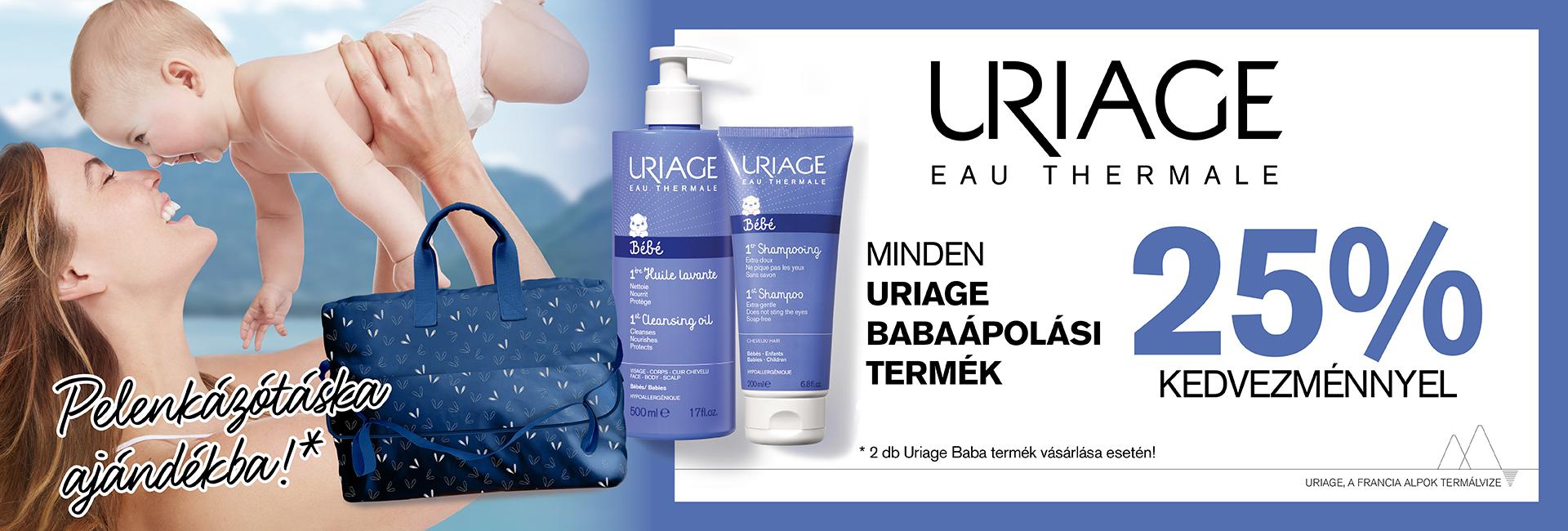 2020. augusztus 31-ig minden Uriage BABA termékre 25% kedvezményt adunk!