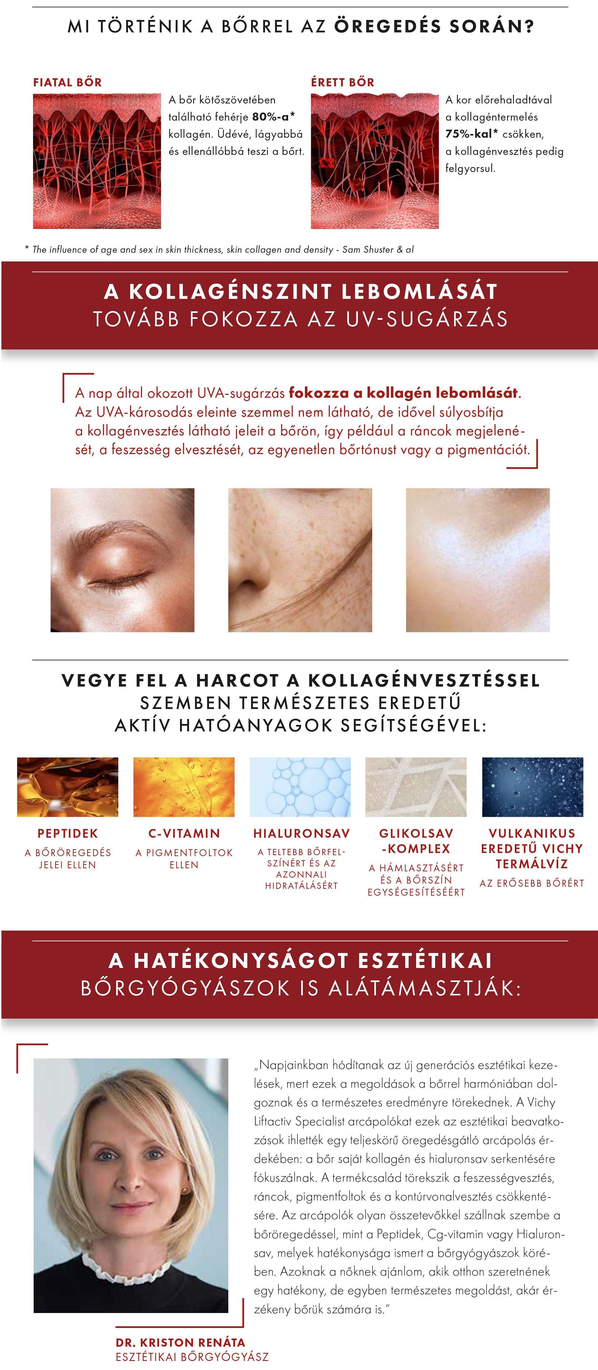 Mi történik a bőrrel az öregedés során?
