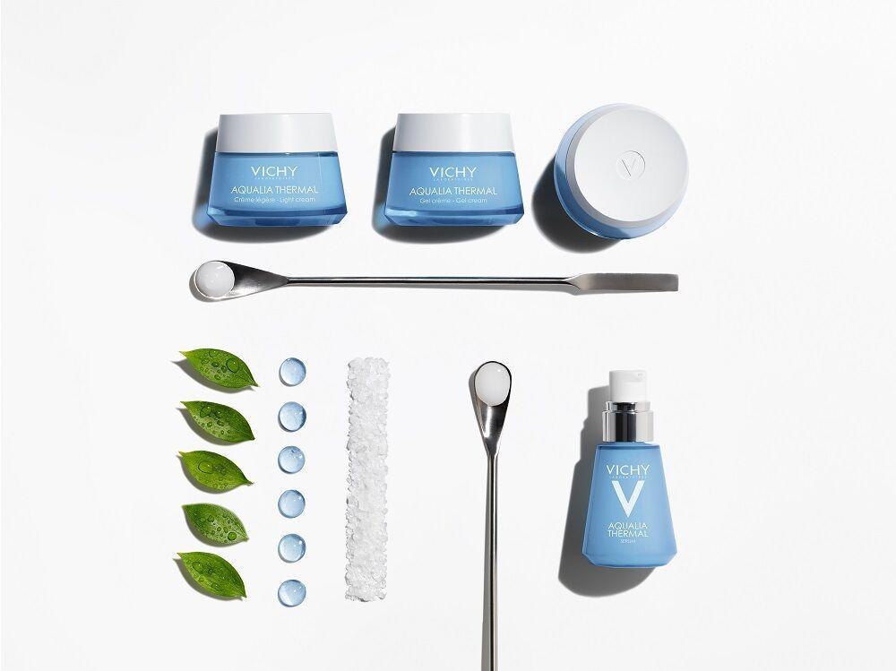 Megújult VICHY Aqualia Thermal termékcsalád minimalista összetétellel.
