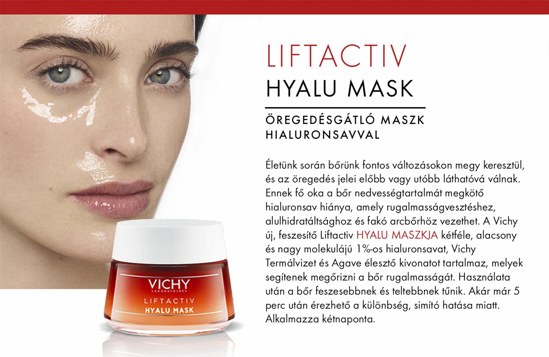 Vichy Liftactiv Hyalu maszk