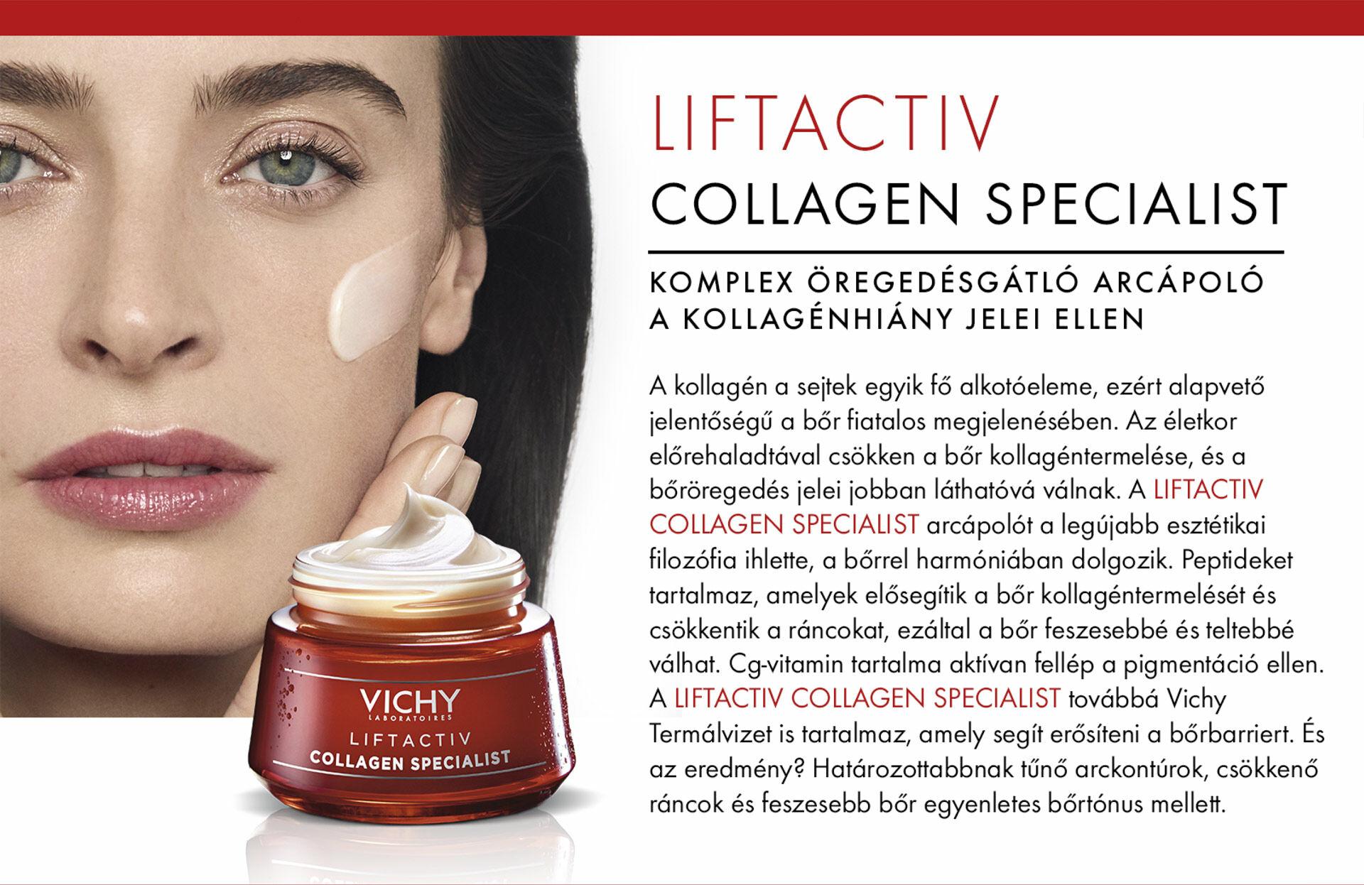 Vichy Liftactiv Collagen Specialist arcápoló