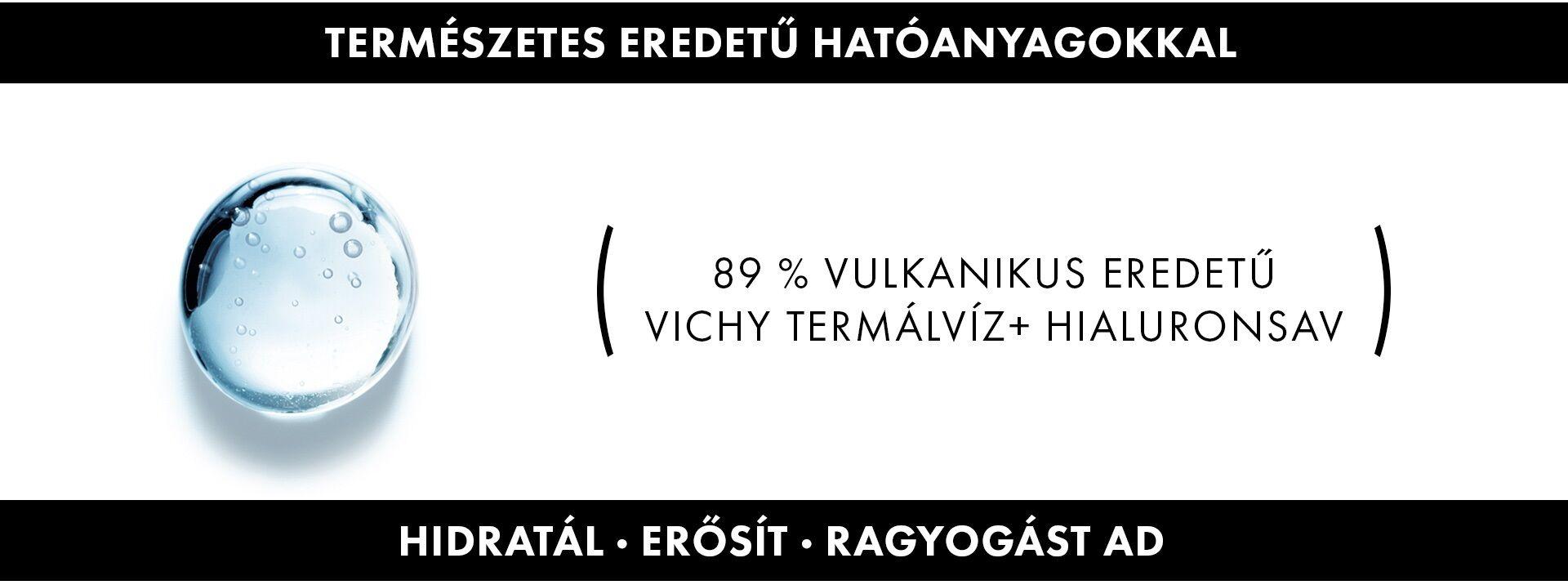 Vichy Minéral 89 Hyaluron Booster termékek