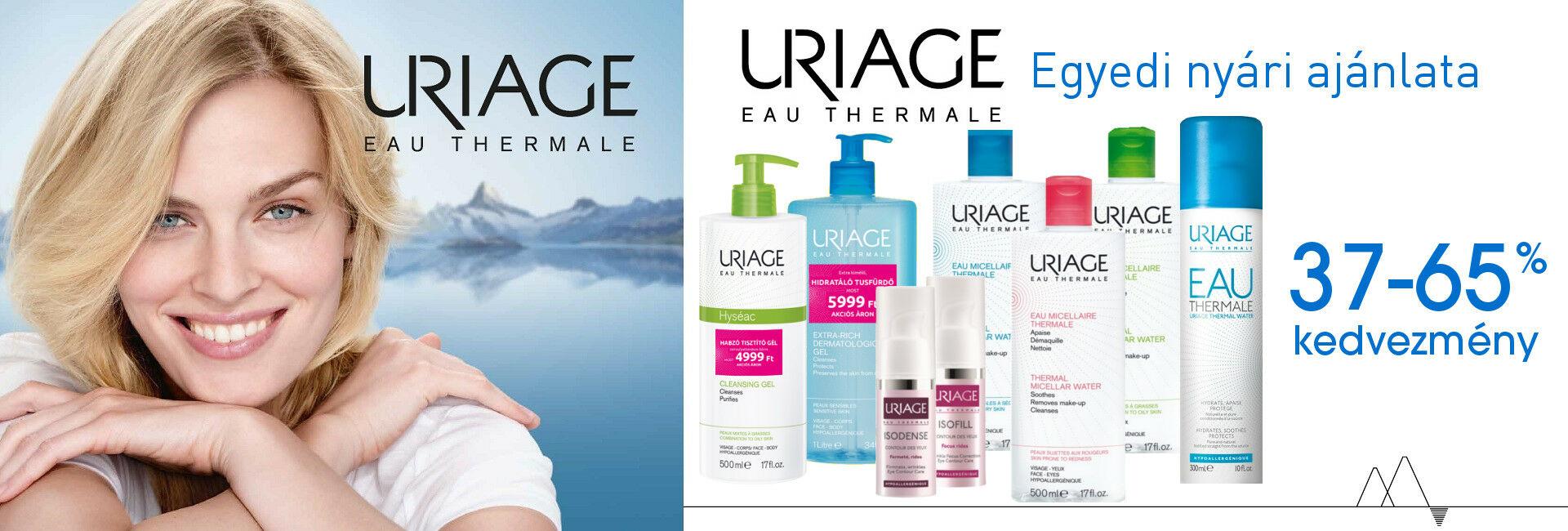 Számos Uriage terméket akár 65%-os kedvezménnyel kínálunk csak a készlet erejéig!