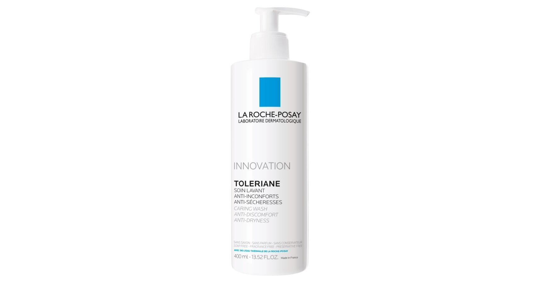 La Roche-Posay Toleriane arctisztító krém termálvízzel..