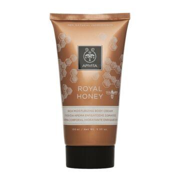 APIVITA Testápoló krém száraz bőrre - Royal Honey 150 ml