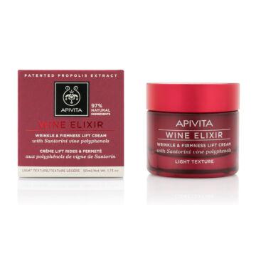 APIVITA WINE ELIXIR - Ránctalanító arckrém LIGHT 50 ml