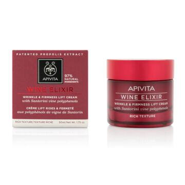 APIVITA WINE ELIXIR - Ránctalanító arckrém RICH 50 ml