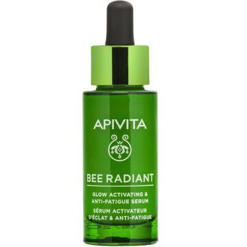 APIVITA BEE RADIANT Bőröregedés és fáradtság jelei elleni, ragyogást aktiváló szérum 30ml