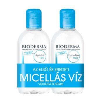 Bioderma Hydrabio H2O arc- és sminklemosó 250ml+250ml DUO PACK