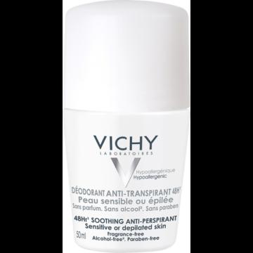 Vichy dezodor izzadságszabályozó golyós érzékeny vagy epilált bőrre 50 ml