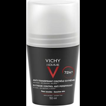 Vichy Homme dezodor 72 órás izzadságszabályozó 50 ml