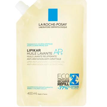 La Roche-Posay Lipikar Tusfürdő Olaj AP+ újratöltő 400ml