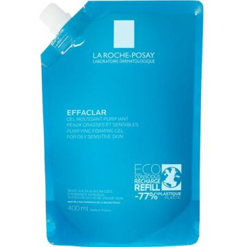 La Roche-Posay Effaclar habzó arctisztító gél utántöltő 400 ml