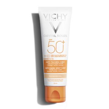 Vichy Capital Soleil Napvédő krém pigmentfoltok ellen SPF50+ 50ml