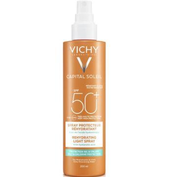 Vichy Capital Soleil Beach Protect Hidratáló napvédő spray extra védelemmel a só és klór hatásai ellen SPF50+ 200ml