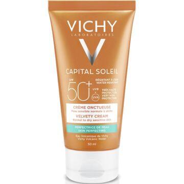 Vichy Idéal Soleil bársonyos napvédő krém SPF50+ 50 ml