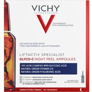 Vichy Liftactiv SPECIALIST Glyco-C Éjszakai Peeling ampulla 30x1,8ml