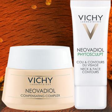 Vichy Neovadiol Arcápolási Rutin Pro-Xylane-nal száraz bőrre