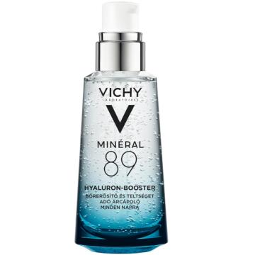 Vichy Minéral 89 Hyaluron-booster bőrerősítő és teltséget adó arcápoló 50ml