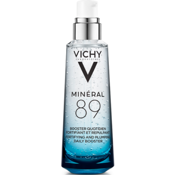 Vichy Minéral 89 Hyaluron-booster bőrerősítő és teltséget adó arcápoló 75ml