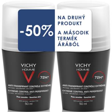 Vichy Homme dezodor 72 órás izzadásgátló (50ml+50ml) DUO PACK