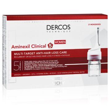 Vichy Dercos Aminexil Clinical 5 többfunkciós hajápoló program hajhullás ellen n ő knek