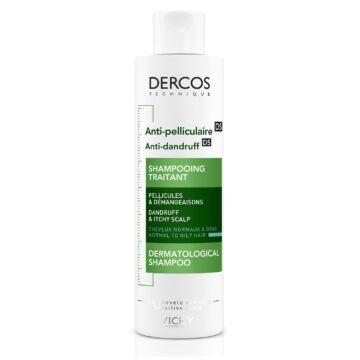 Vichy Dercos korpásodás elleni sampon normál vagy zsíros hajra