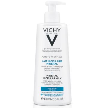 Vichy Pureté Thermale micellás tej 400ml