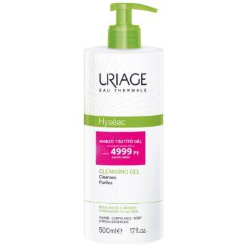 Uriage HYSÉAC Habzó tisztitó gél zsíros bőrre 500 ml