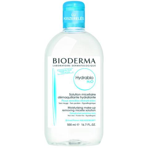 Bioderma Hydrabio H2O arc- és sminklemosó 500ml