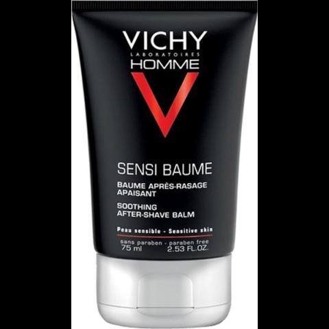 Vichy Homme Sensi Baume Mineral Ca borotválkozás utáni balzsam érzékeny bőrre 75 ml