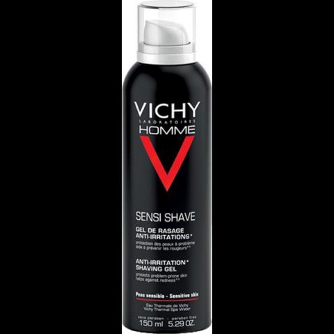 Vichy Homme borotvagél érzékeny vagy problémás bőrre 150 ml