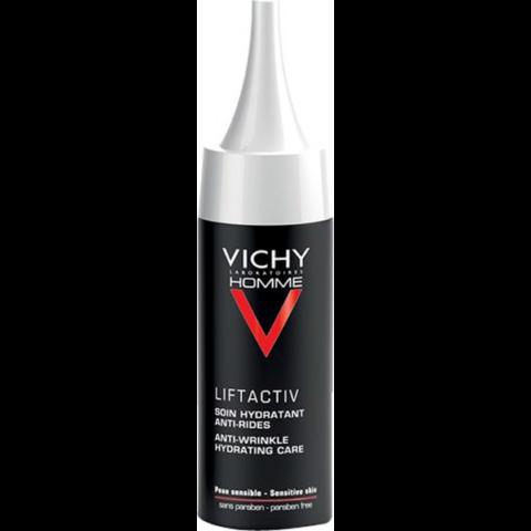Vichy Homme Liftactiv ránctalanító arckrém a fáradtság jelei ellen 30 ml