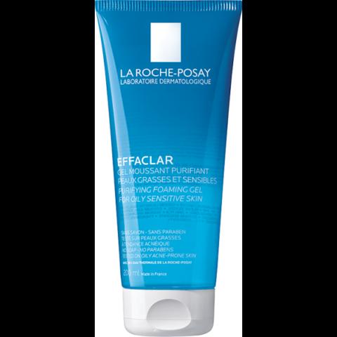 La Roche-Posay Effaclar habzó arctisztító gél zsíros és érzékeny bőrre 300ml