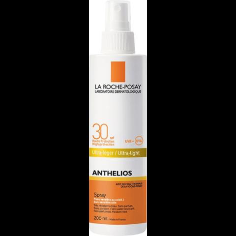 La Roche-Posay Anthelios ultra könnyű spray napérzékeny bőrre SPF30 200ml