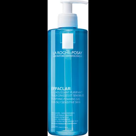 La Roche-Posay Effaclar habzó arctisztító gél zsíros és érzékeny bőrre 400 ml