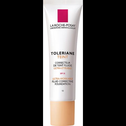 La Roche-Posay Toleriane Teint SPF 25 Ivory 10 korrekciós alapozó fluid  30 ml