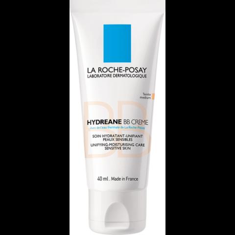 La Roche-Posay Hydreane BB krém bőrtökéletesítő hatással SPF20 Medium árnyalat 40ml