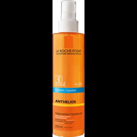 La Roche-Posay Anthelios komfortérzetet adó, tápláló olaj SPF30 200ml