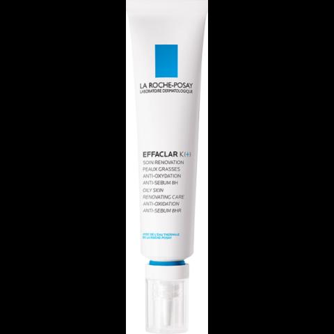 La Roche-Posay Effaclar K(+) arcápoló krém zsíros bőrre termálvízzel 30 ml