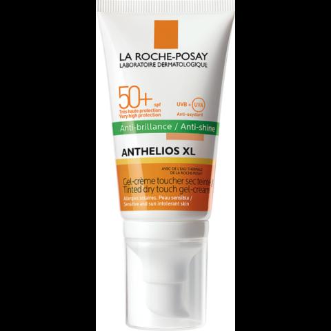 La Roche-Posay Anthelios XL mattító hatású gél-krém arcra színezett SPF50+ 50ml