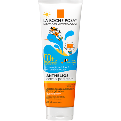 La Roche-Posay Anthelios Dermo-Pediatrics napvédő tej-gél gyermekeknek SPF50+ 250ml