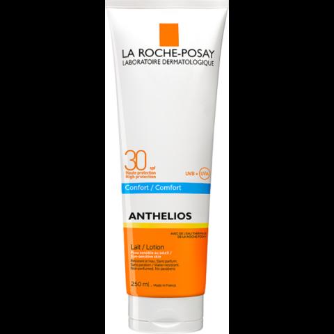 La Roche-Posay Anthelios komfortérzetet adó naptej SPF30 250ml
