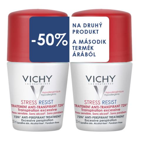 Vichy dezodor Stress Resist izzadásgátló (50ml+50ml) DUO PACK