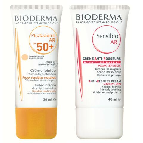 Bioderma Photoderm AR SPF50+ krém + Sensibio AR krém