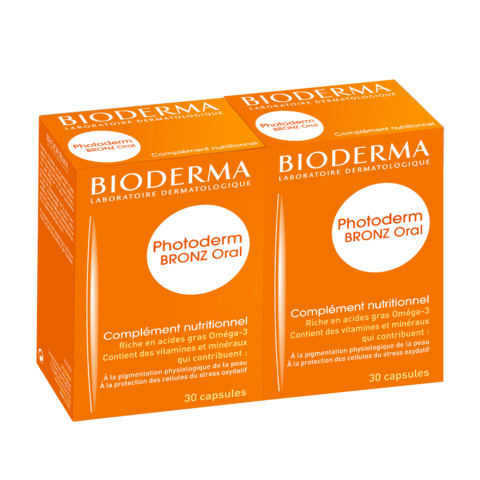 Bioderma Photoderm Bronz Oral kapszula 2x30db DUO PACK