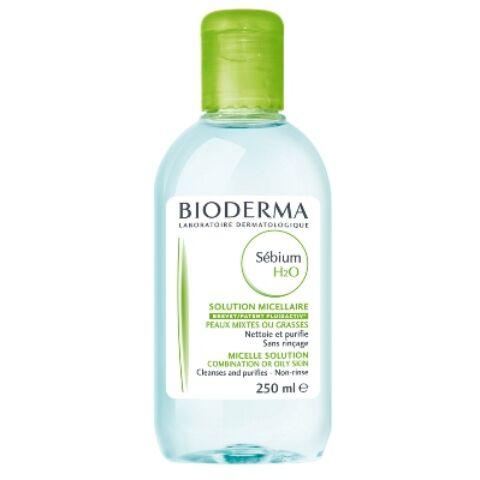 Bioderma Sébium H2O arc- és sminklemosó 250ml